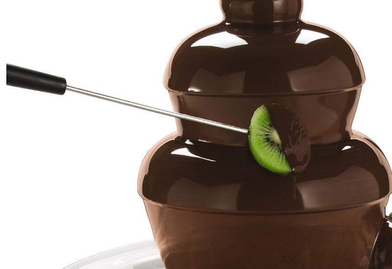 With your chocolate fountain in the center of the table, everyone will remember your event