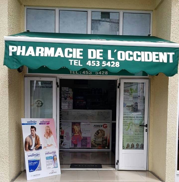 Pharmacie de L´Occident, Flic en Flac, Tel: 453 5428