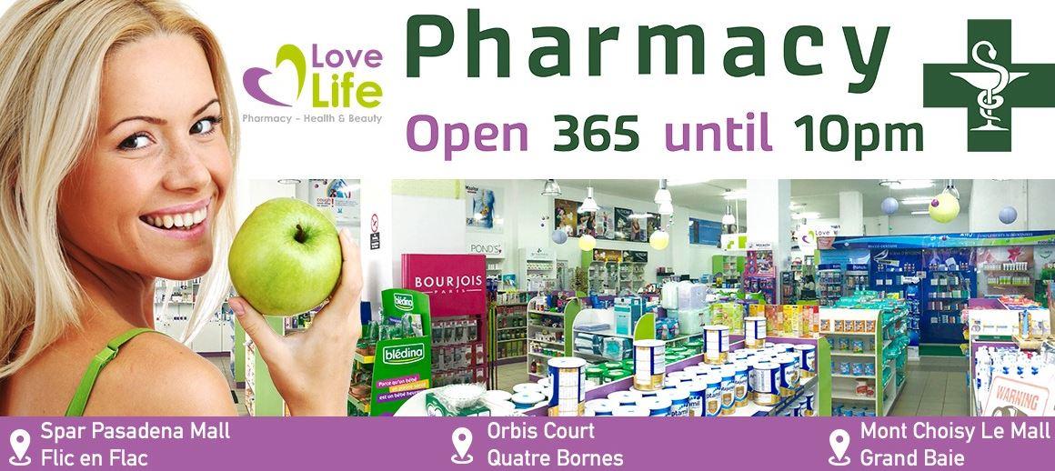 Love Life Pharmacy Flic en Flac
