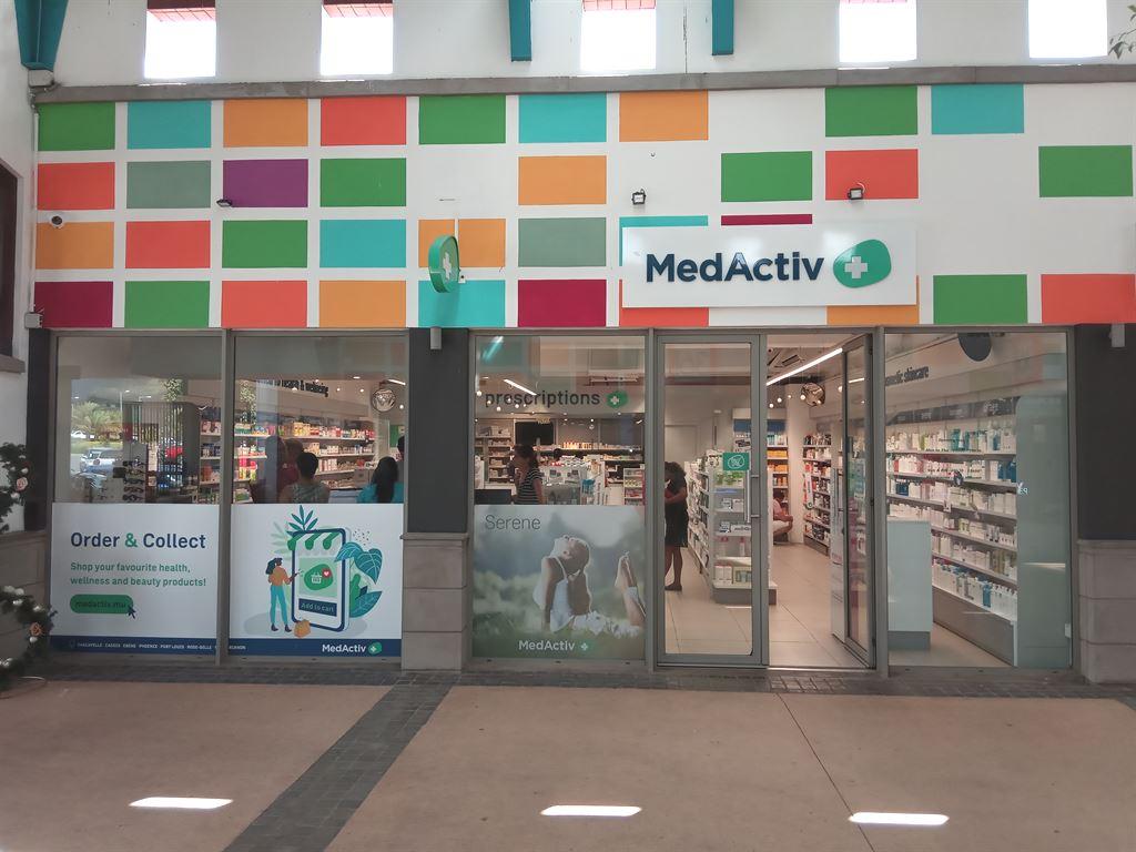 Medactiv Pharmacy at Cascavelle Shopping Mall