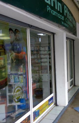 Pharmacy at Tamarin, Mauritius