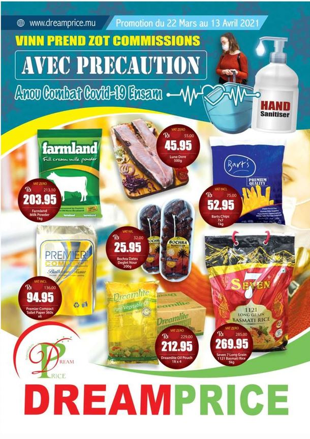 Dream Price Mauritius, Promotion