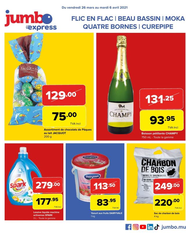 Jumbo Promotion, recommended by Chez.mu
